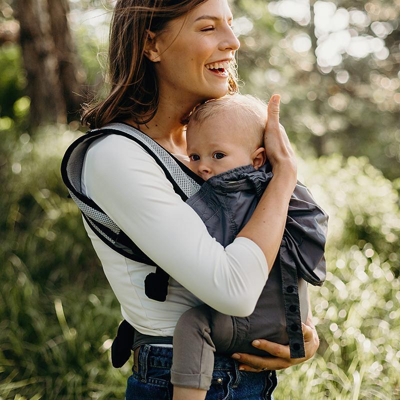 Porte bébé Boba Air Gris