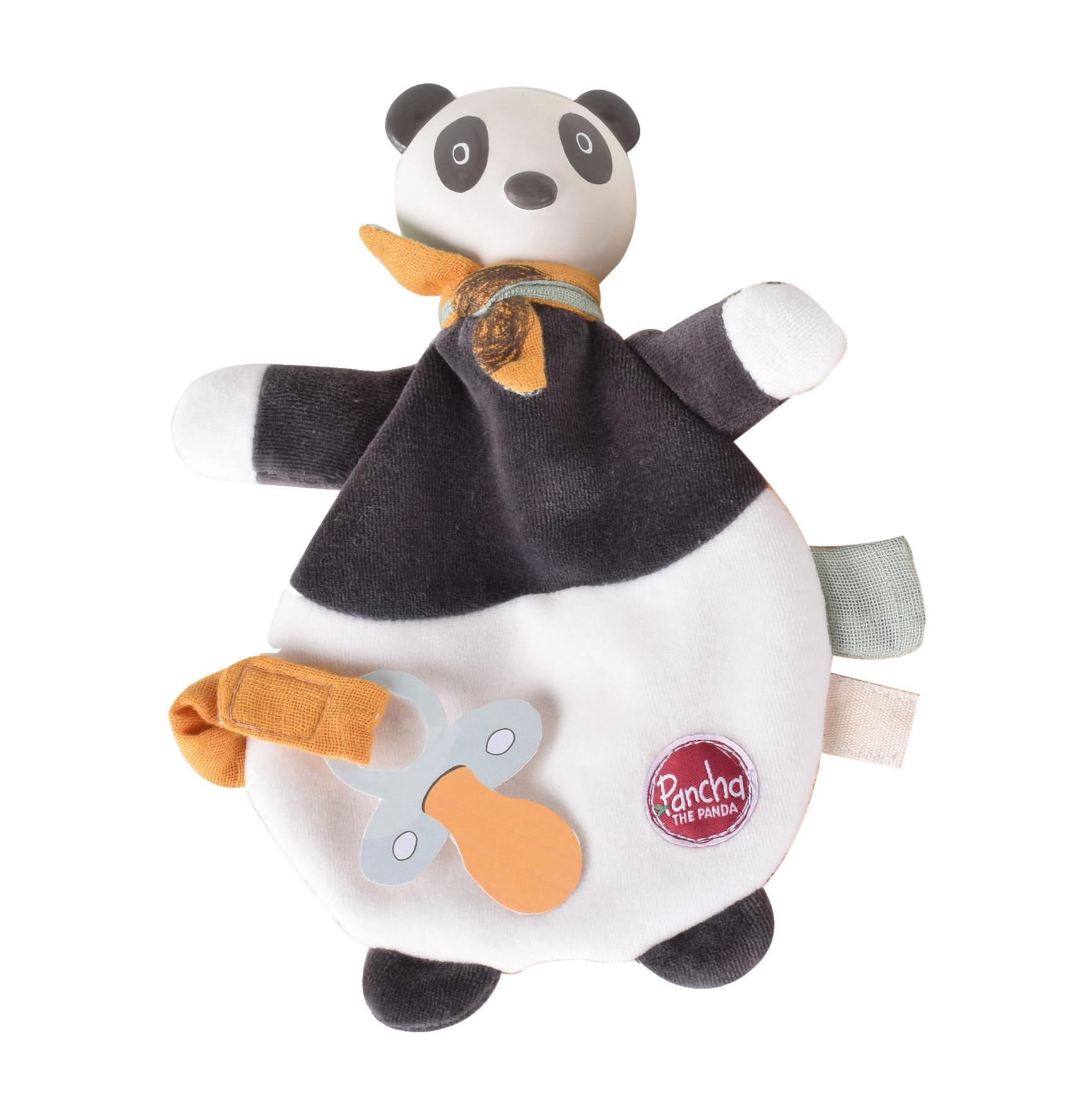 Doudou Panda Tikiri 24 cm