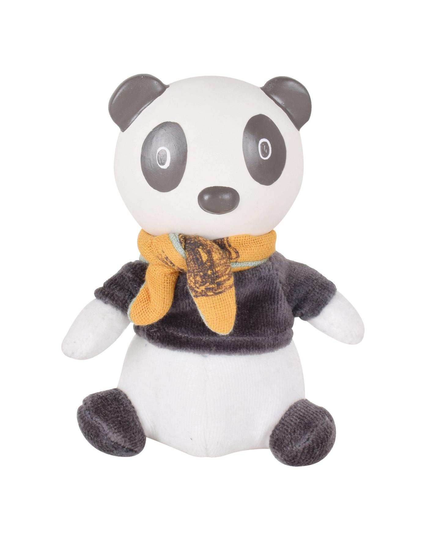 Pancha le Panda - Jouet en Caoutchouc Naturel