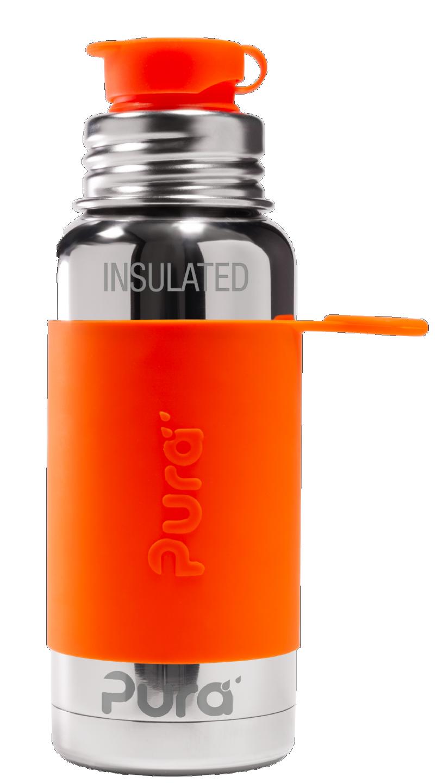Gourde Isotherme - Pura Sport acier inoxydable 475 ml