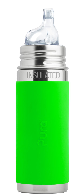 Gourde Isotherme - Pura Kiki acier inoxydable avec embout bec 260 ml