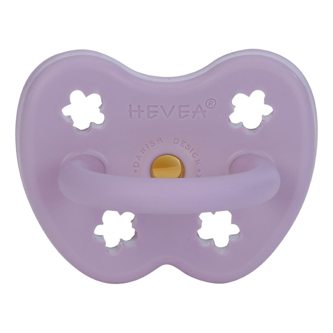 Tétine physiologique lavande - fleur - Hevea