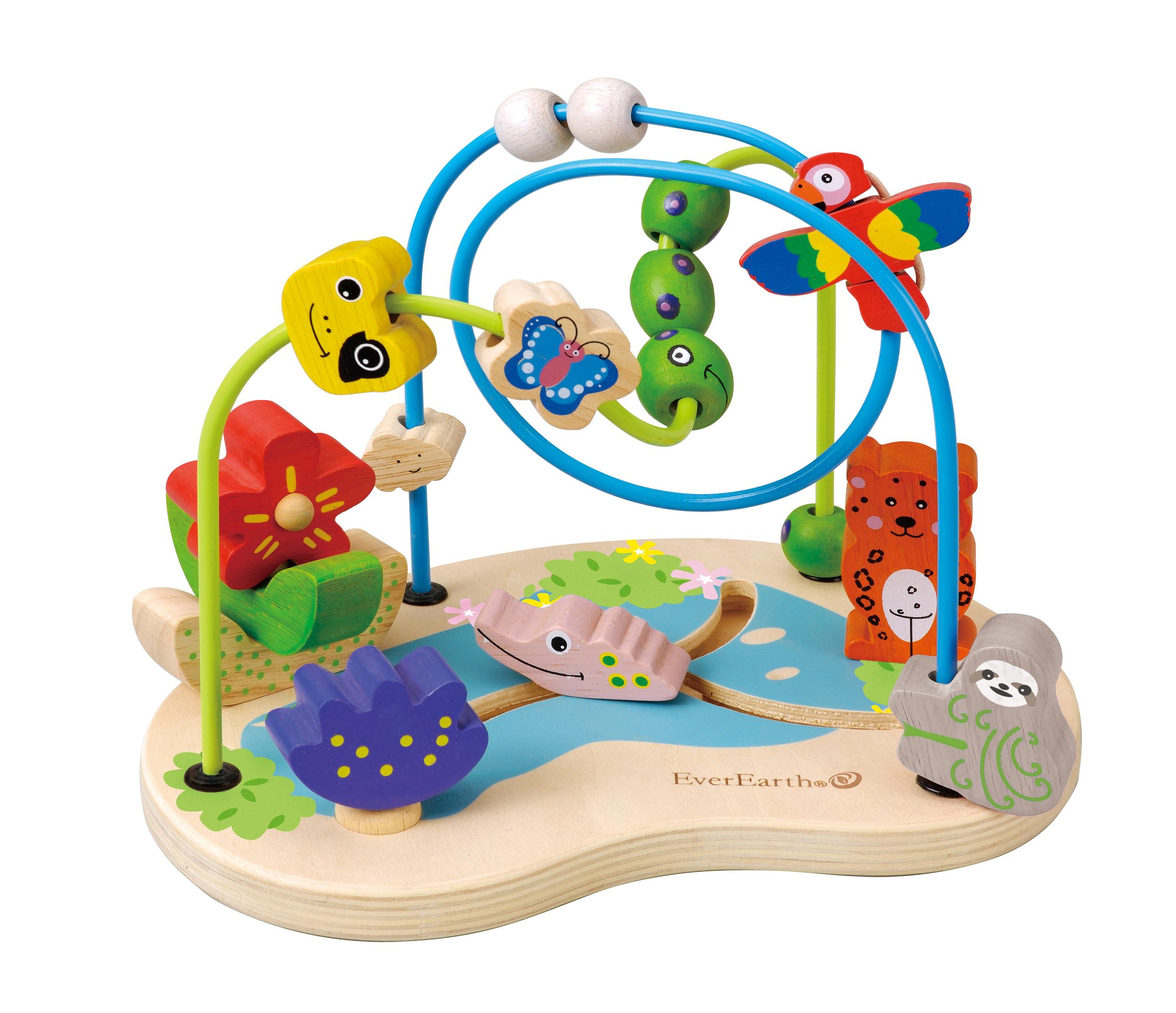 Boulier Amazonie - jouet en Bois Everearth
