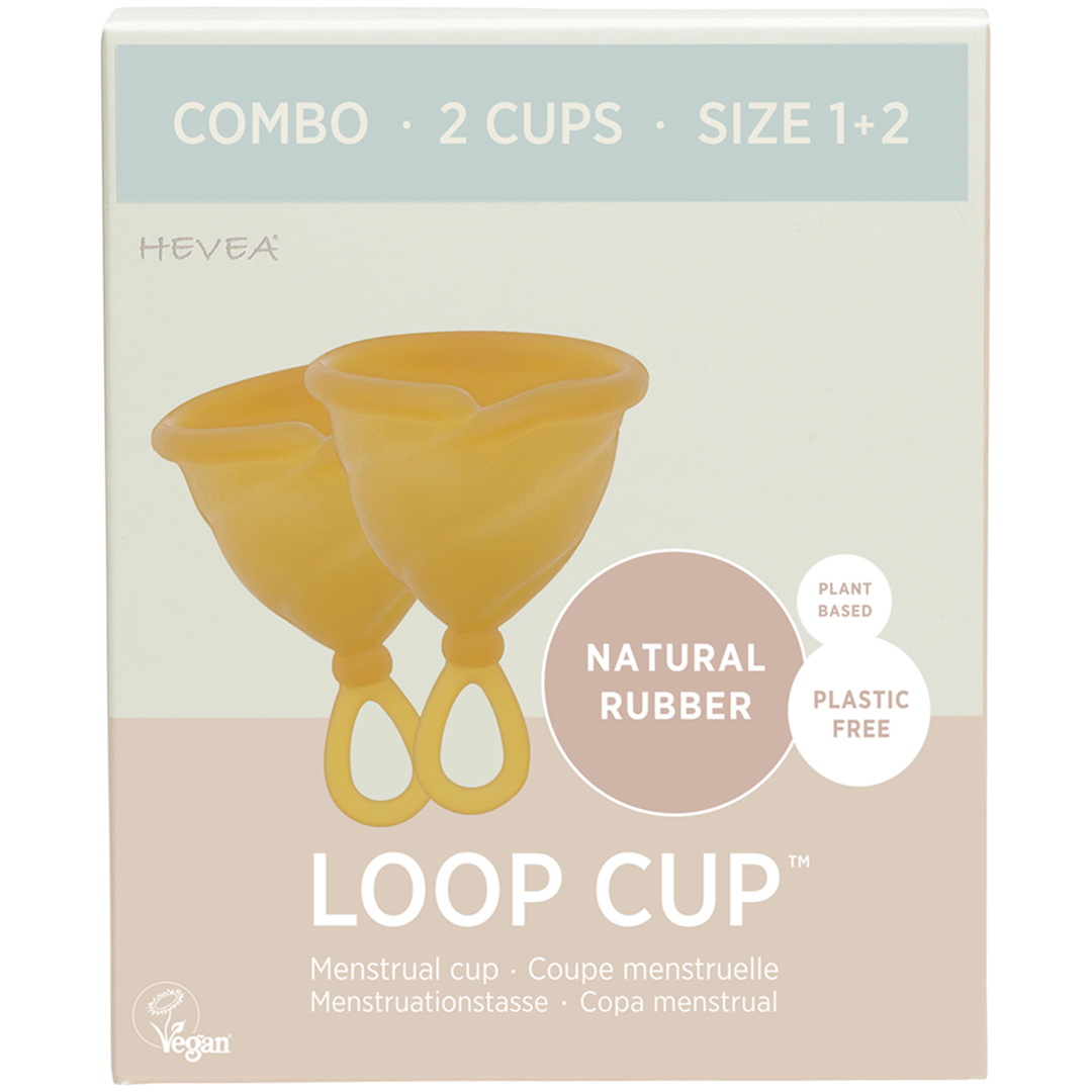 2 Coupes Menstruelles Loop Cup - Pack Combo