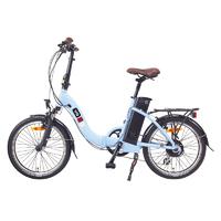 Vélo à assistance électrique Pliant - VG LAVIL Bleu Ciel