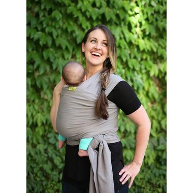Boba Wrap Grise - écharpe de portage nouveau né