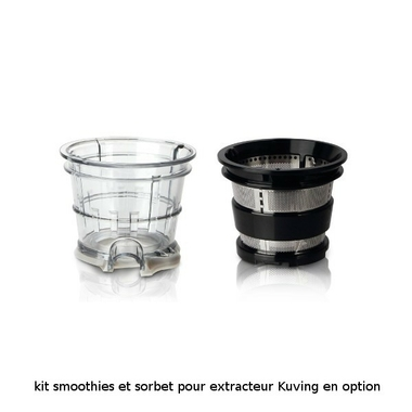 option kit smoothies et sorbet pour kuvings