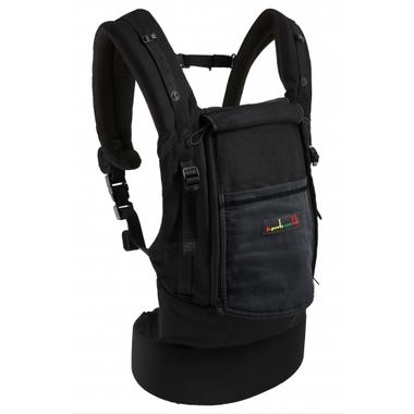 Porte-bébé JPMBB tablier noir poche anthracite - Physiocarrier