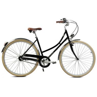 vélo de ville arcade coffee femme noir 2016