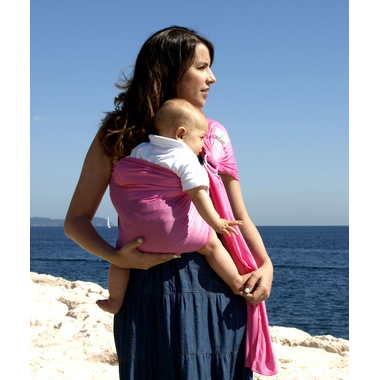 porte bébé sling sukkiri rose