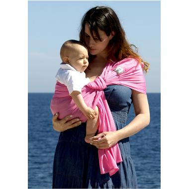Sukkiri - porte bebe sling - rose