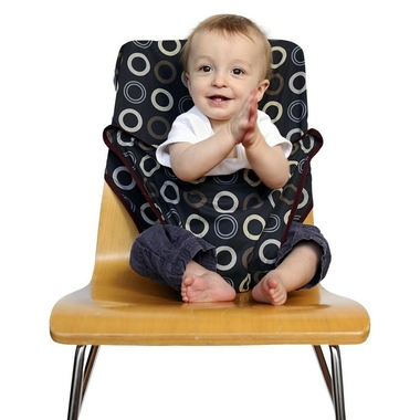 chaise nomade totseat - coffee bean