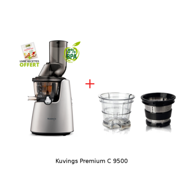 kuvgings 9500 et kit smoothie - gris