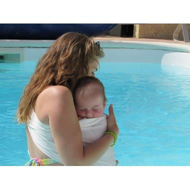 porte-bebe sling sukkiri blanc