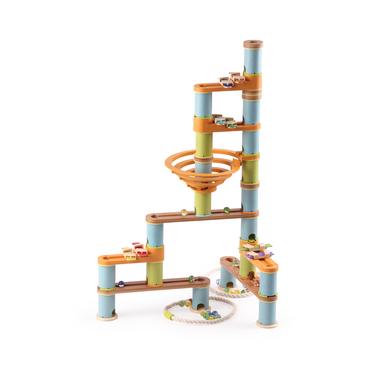 circuit de billes- kit musical - 98 pièces - bamboo planet