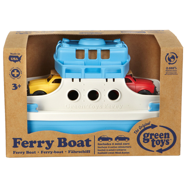 boite Ferry Boat avec Mini Voitures Green Play