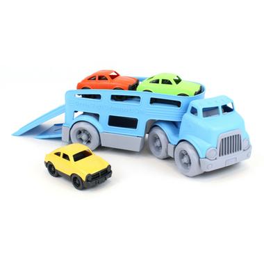 camion transporteur de voiture - Green Toys