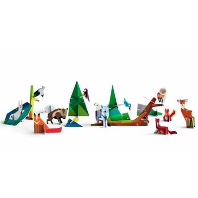 Les amis de la forêt - Kidsonroof