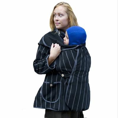 MaM MOTHERHOOD COAT – Manteau de maternité par MaM - SILVER STRIPE