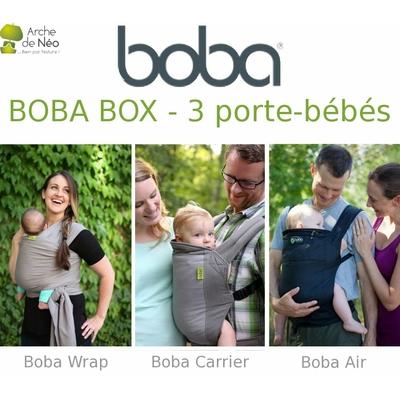 BOBA BOX - 3 porte-bébés Boba