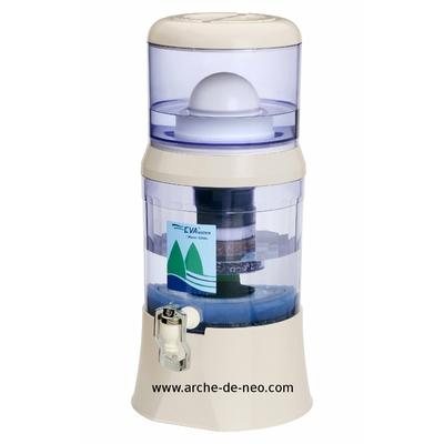 Fontaine Filtrante EVA avec IRL et Magnétisation - 7 L