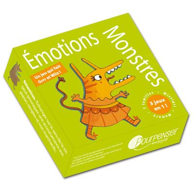 Jeu de cartes Émotions Monstres - Pourpenser Éditions