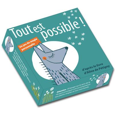 Jeu de cartes Tout est Possible - Pourpenser Éditions
