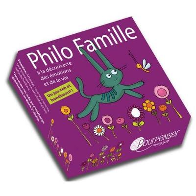 Jeu Philo Famille - Pourpenser Éditions