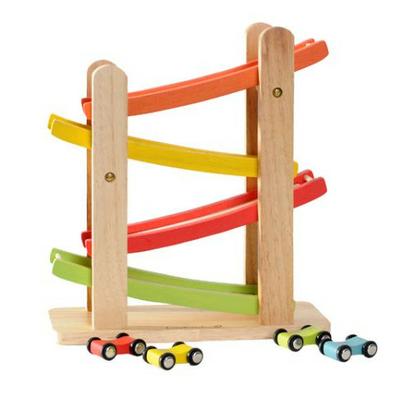 Rampe de Course - Everearth - Jouet en bois