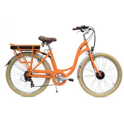 E colors Orange - Vélo électrique Femme - Arcade