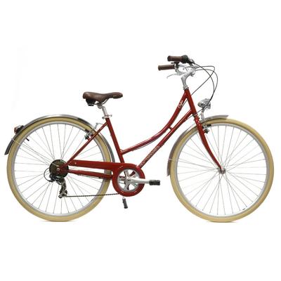 Coffee femme S6 bordeaux - vélo de ville Arcade