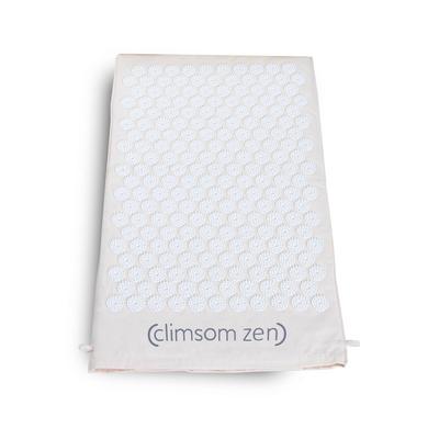 Tapis d'acupression Climsom Zen Blanc
