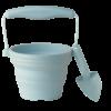 pot de semis  avec pelle - bleu oeuf de canard - Copie