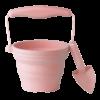 pot de semis  avec pelle - vieux rose - Copie