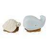 jouet de bain hevea squeeze n splash - baleine et tortue blizzard blu
