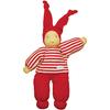 poupée bio - Keptin jr - waldorf boyo rouge