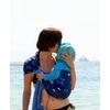 porte bébé sukkiri bleu étoile