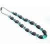 collier de portage Vegetal Noir et Turquoise