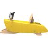 Bascule jouet en Bois pour Enfant jaune