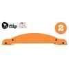 base  orange mini flip