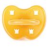 tétine ronde couronne HEVEA - 0 - 3 mois