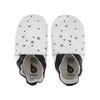 chausson bobux flocons de neige blanc