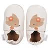 Chaussons cuir Bébé Bobux - soft soles Cerf écru - 4270