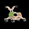 Trotteur Wishbone Mini Flip - Base de course vert