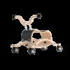 Trotteur Wishbone Mini Flip - Base de course noir