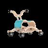 Trotteur Wishbone Mini Flip - Base de course bleu