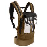 Porte-bébé JPMBB - PhysioCarrier Safari poche Olive- ouvert