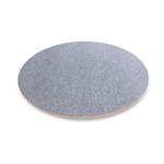 Wobbel360 transparent laqué avec feutre gris
