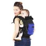 Porte-bébé PhysioCarrier tablier Noir Poche Iris - Love Radius - jpmb