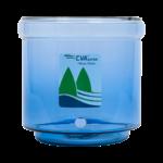 cuve en verre fontaine filtrante EVA 7 L